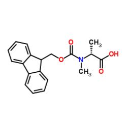 N-芴甲氧羰酰基-N-甲基-D-丙氨酸, CAS #  138774-92-2