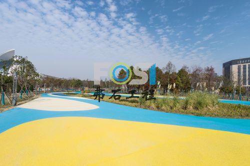 上海临港海洋博物馆广场透水混凝土工程