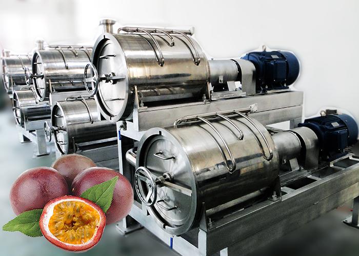 百香果浆加工生产线