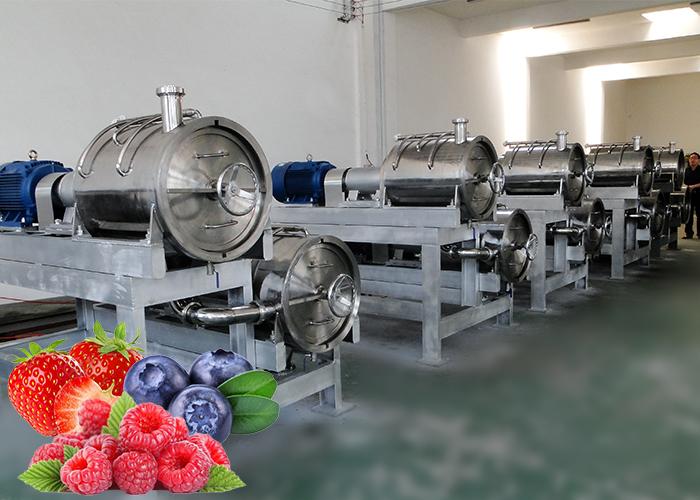 草莓 藍莓 漿果類果醬加工生產線