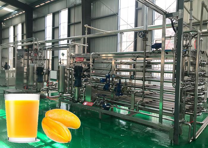 芒果汁菠蘿汁加工生產線