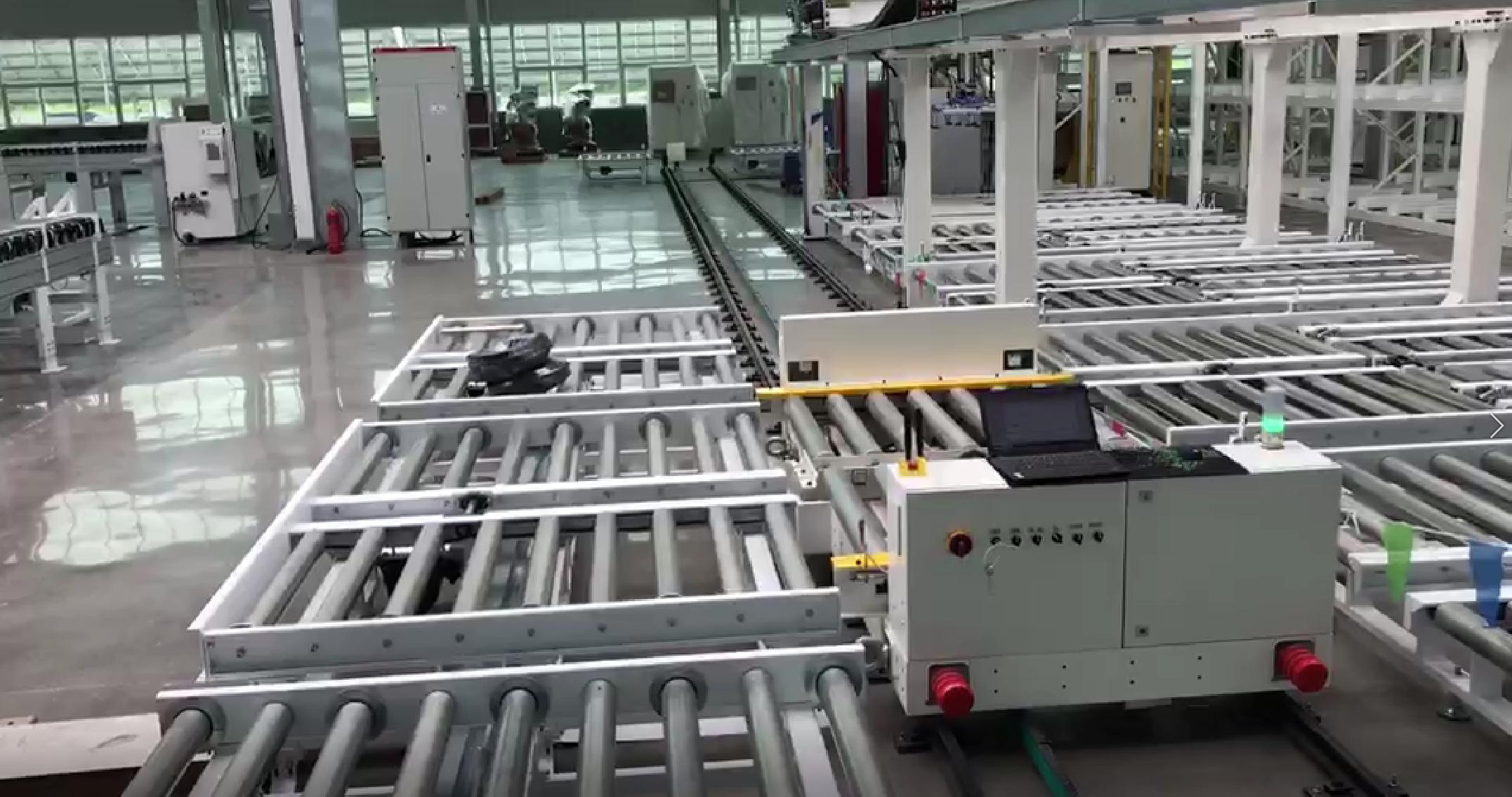 厂内智能搬运-智能RGV输送系统