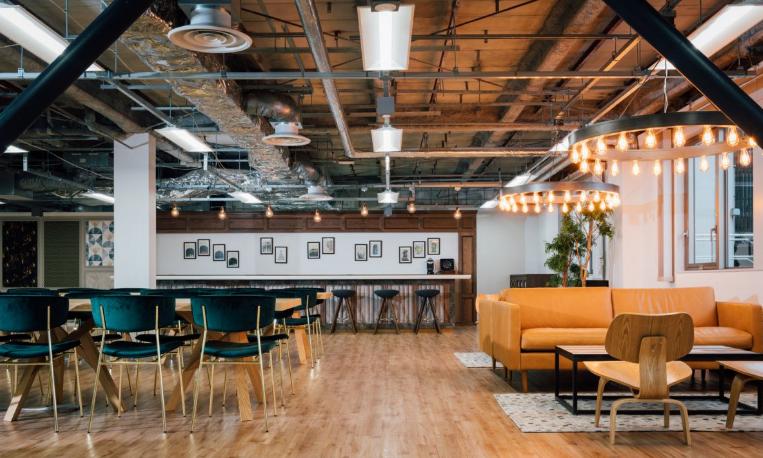 合理的色彩搭配,讓辦公空間繽紛多彩