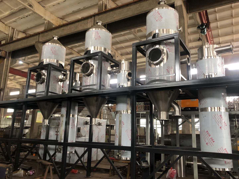 四效蒸发器工作原理和工艺流程详解