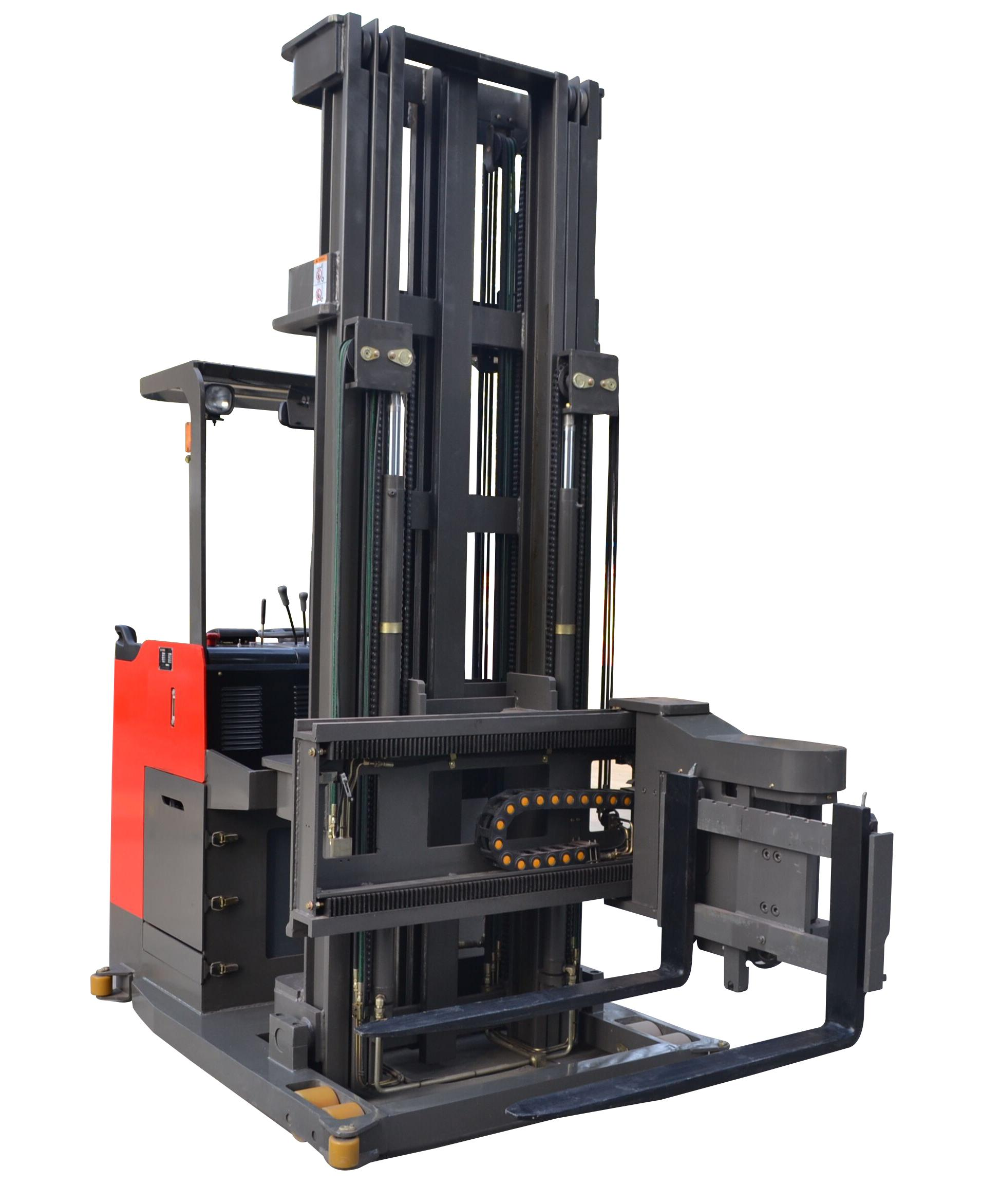 1.0-1.5吨电动三向叉车/电动窄通道叉车-上海涵得实业有限公司