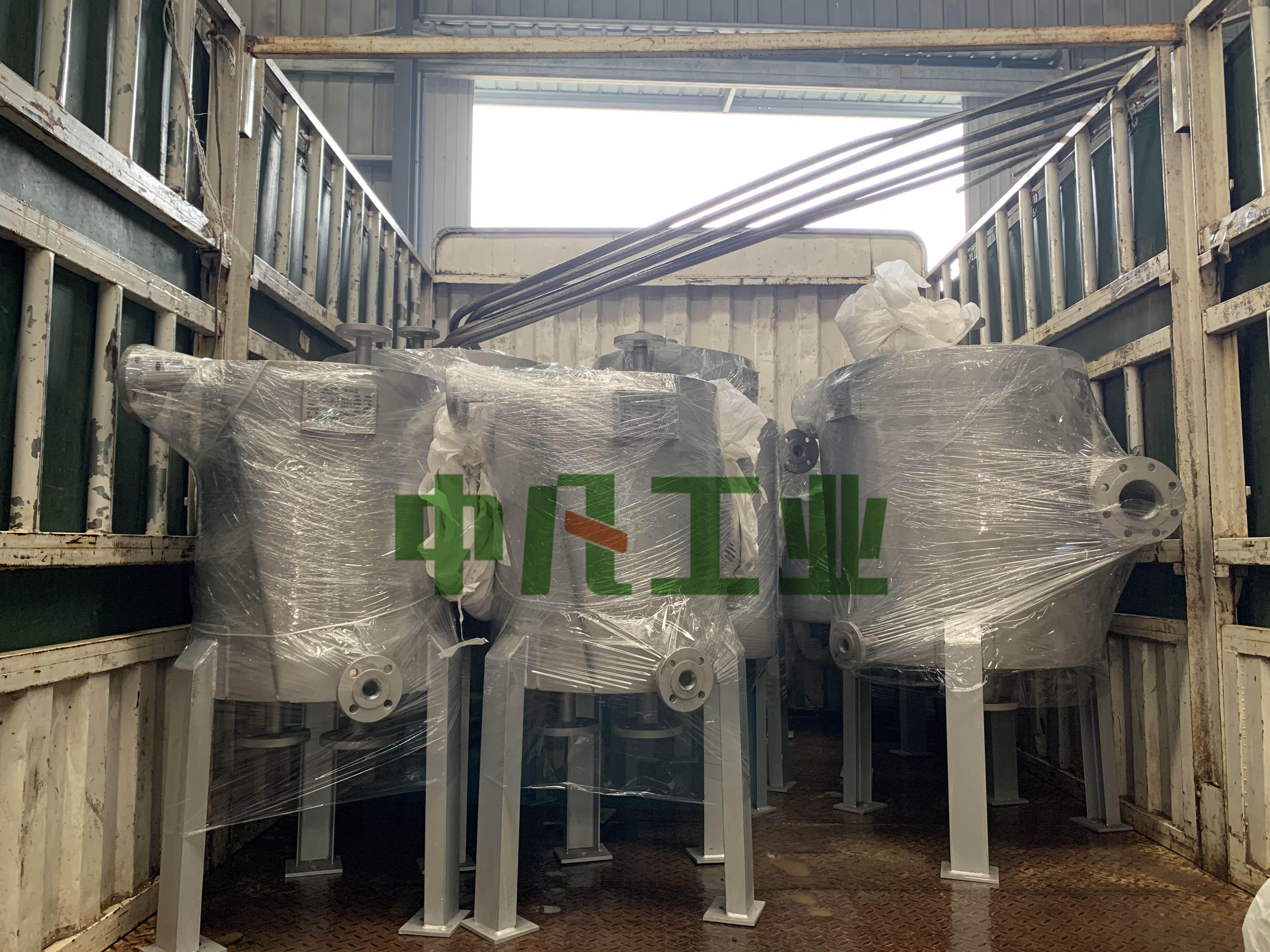 江苏龙泰环保螺旋板式换热器顺利交付