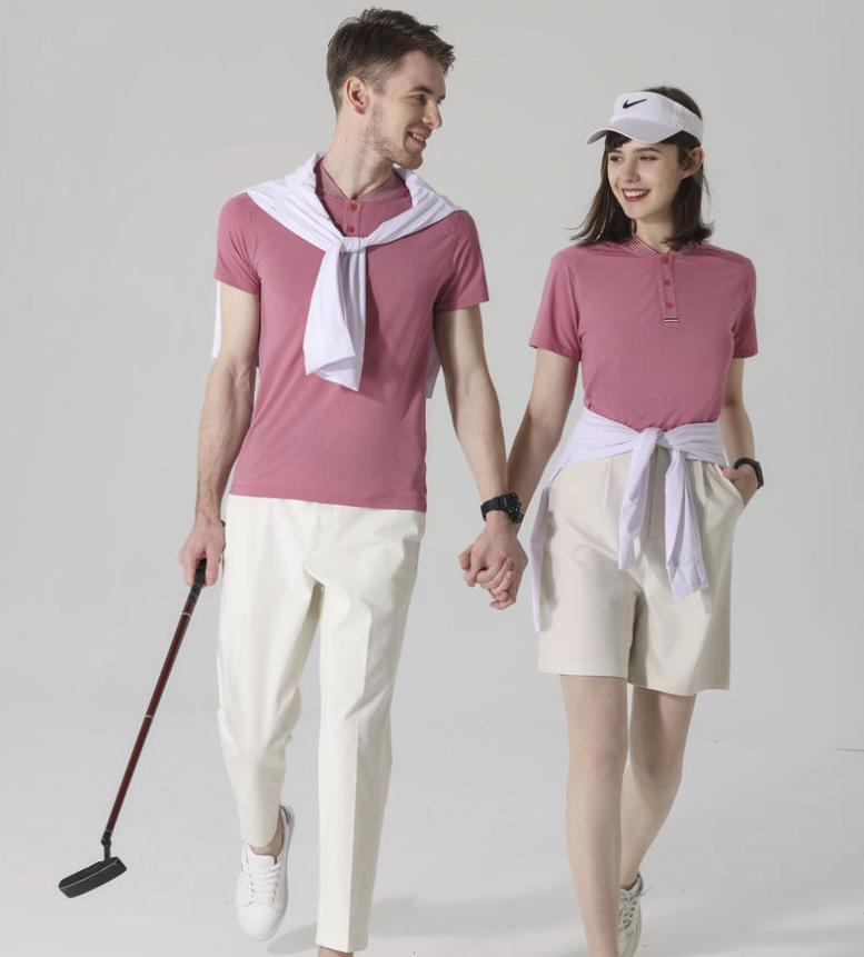新款棒球POLO衫 运动款快干立领T恤 企业工作绣印LOGO广告POLO衫