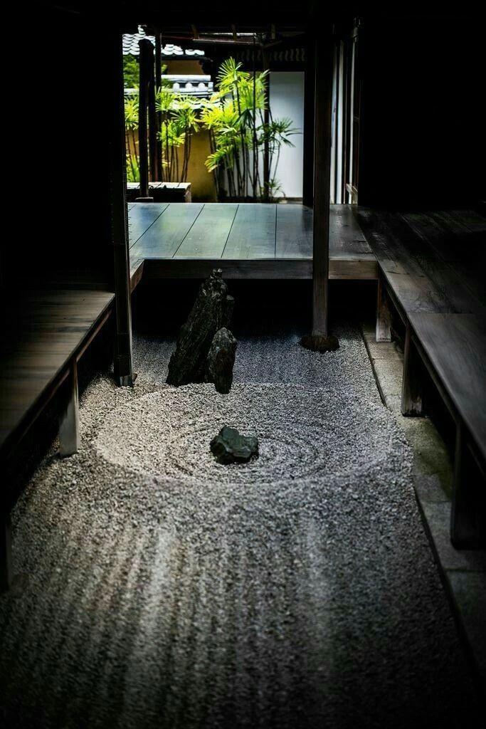 景观设计   日式枯山水