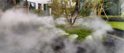"""园林景观贝斯特全球最奢华网页雾系统,打造""""犹如仙境""""的美景,就在你眼前"""