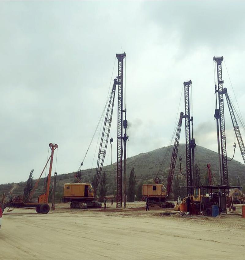 兰州和平储物流园区项目工程