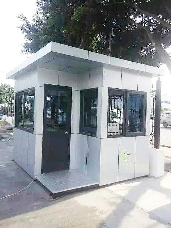 新钢结构四方岗亭KJ805