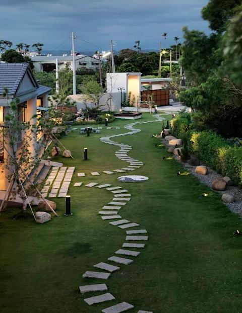 絕美別墅庭院設計案例