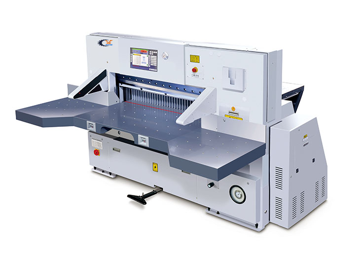 QZYK1370D-19触摸屏切纸机