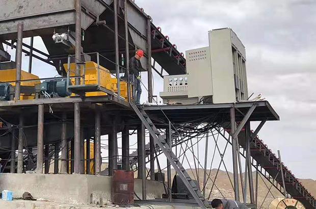 大型矿场机械设备配电项目