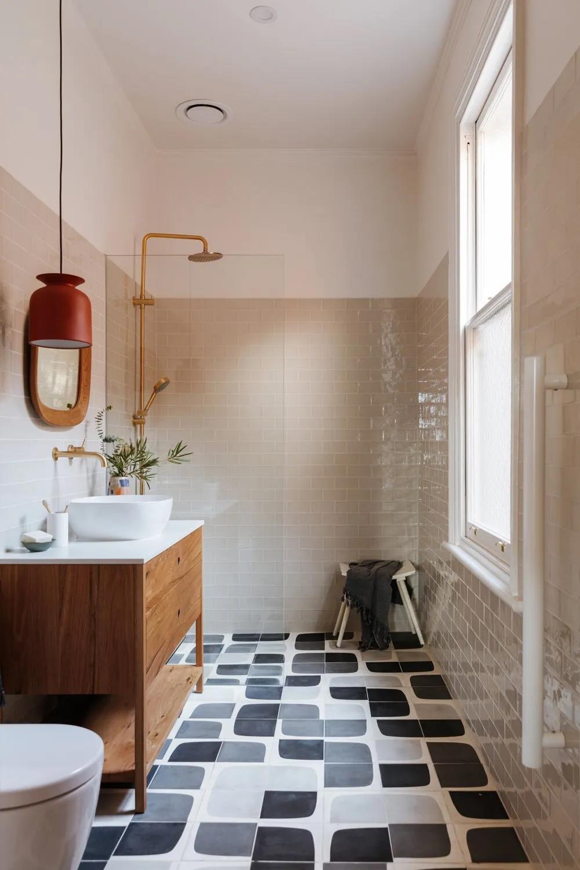 超級好看的浴室瓷磚搭配哦,看看這16位設計師的靈感吧~~