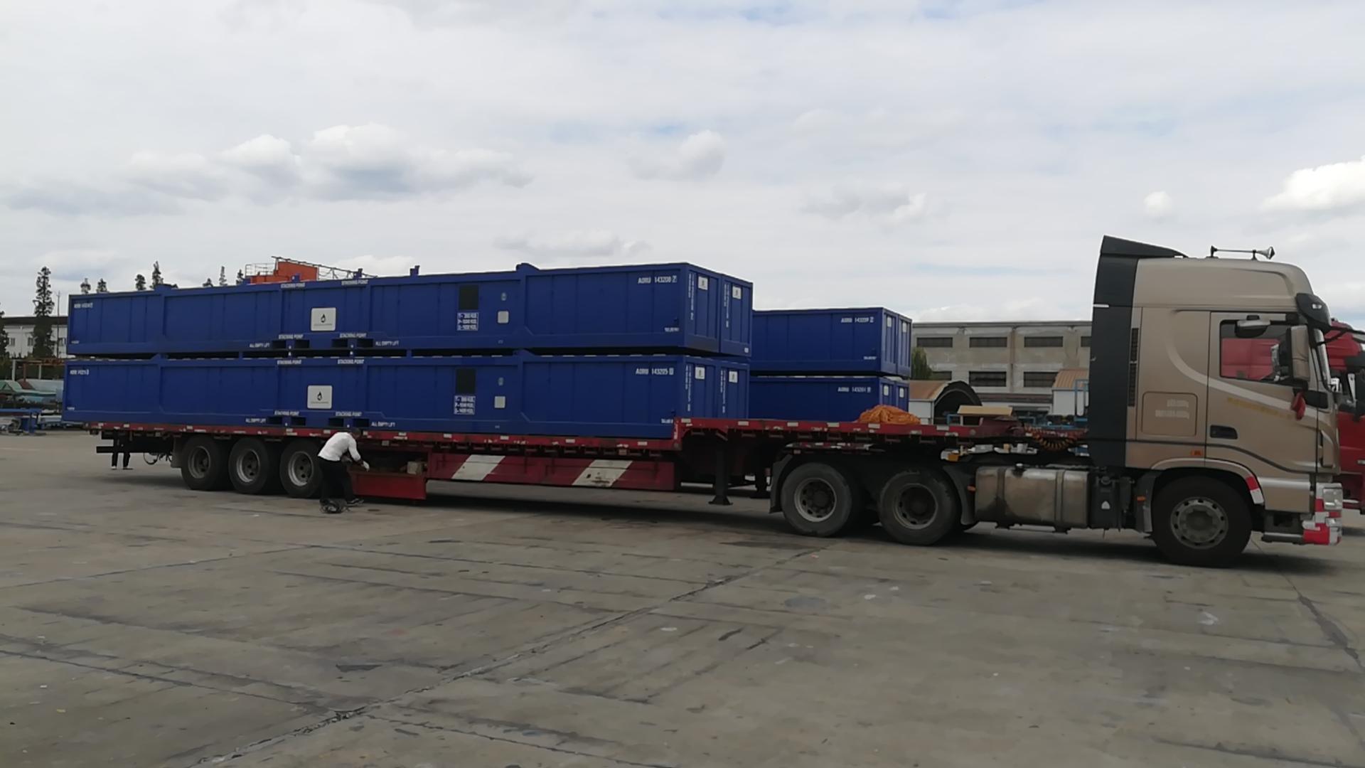 楚基物流非标集装箱运输服务