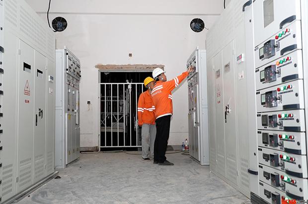 兰州新区商场用电装置项目