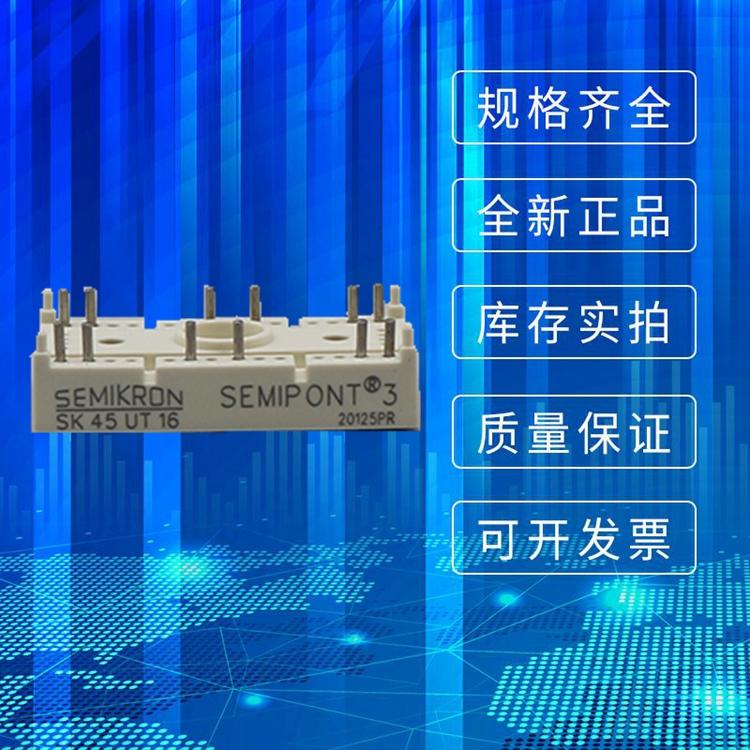 全新 SEMIKRON西门康可控硅模块 SK45UT16 二极管功率模块