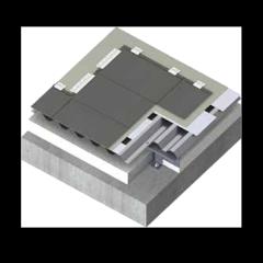 金属屋面平锁扣铝镁锰系统(菱形平锁扣)
