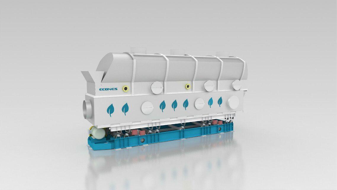 定制结晶体成品干燥设备振动流化床干燥机