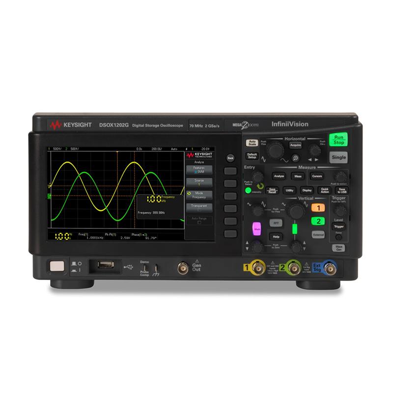 是德科技 DSOX1202G 示波器