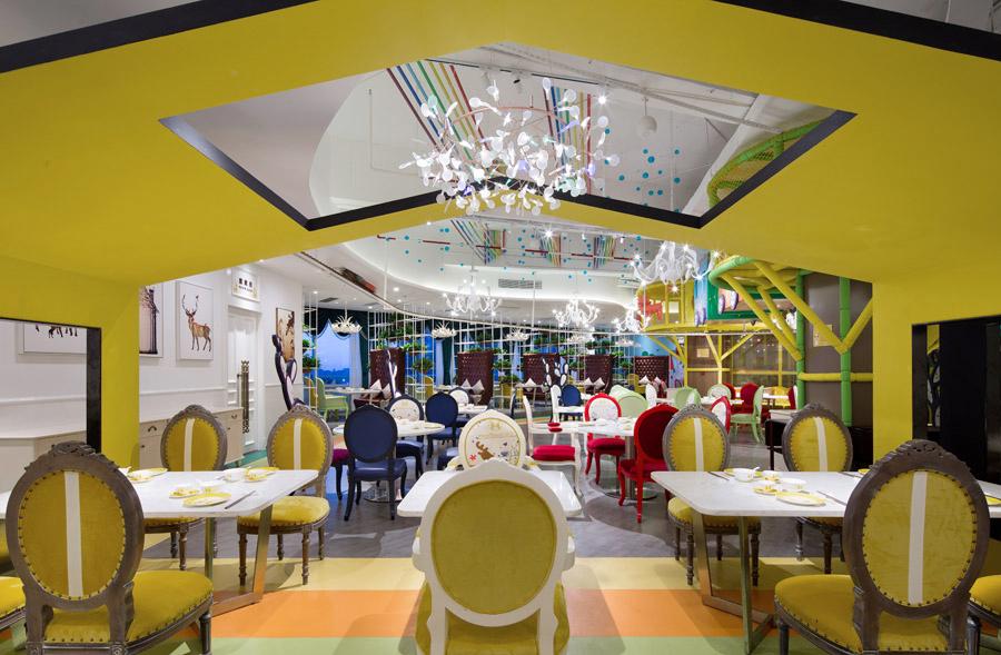 亲子餐厅装修设计
