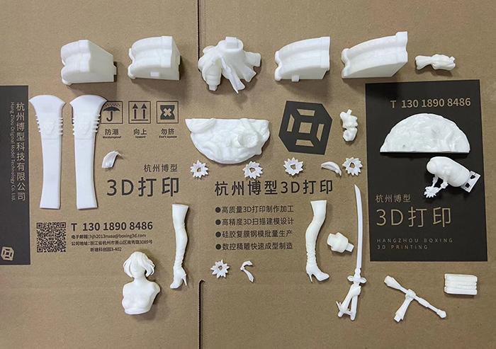 南京3D打印美女战士手办模型.jpg