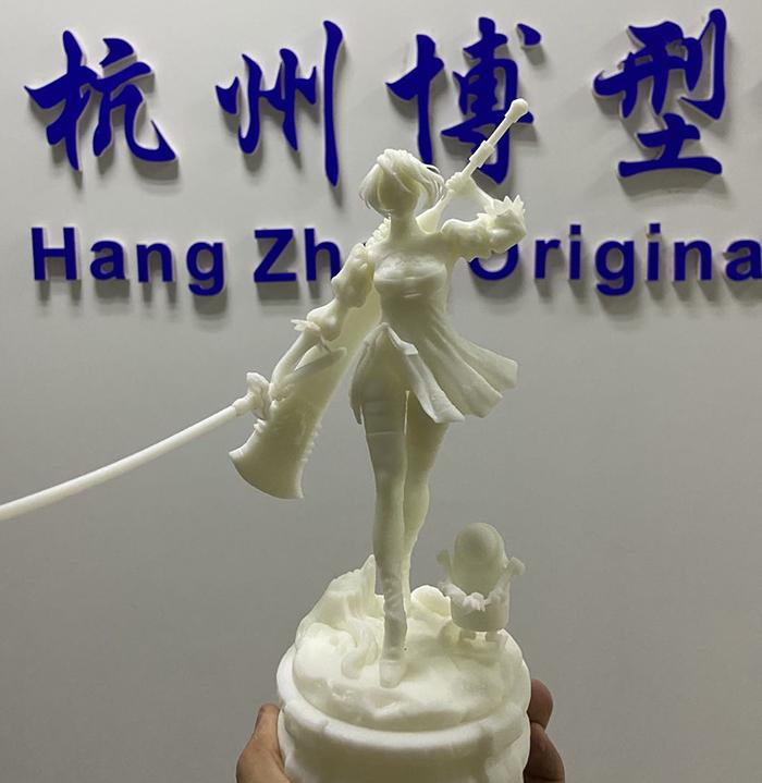 深圳3D打印美女战士手办模型.jpg