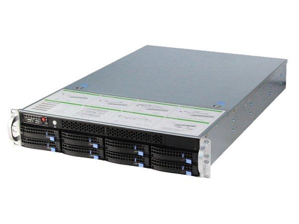 RS-208-8盘位服务器机箱