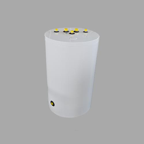 嘉禾不锈钢单盘管水箱150L顶出水
