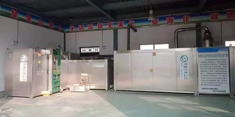 镇原县北石窟生活垃圾无害化处理厂