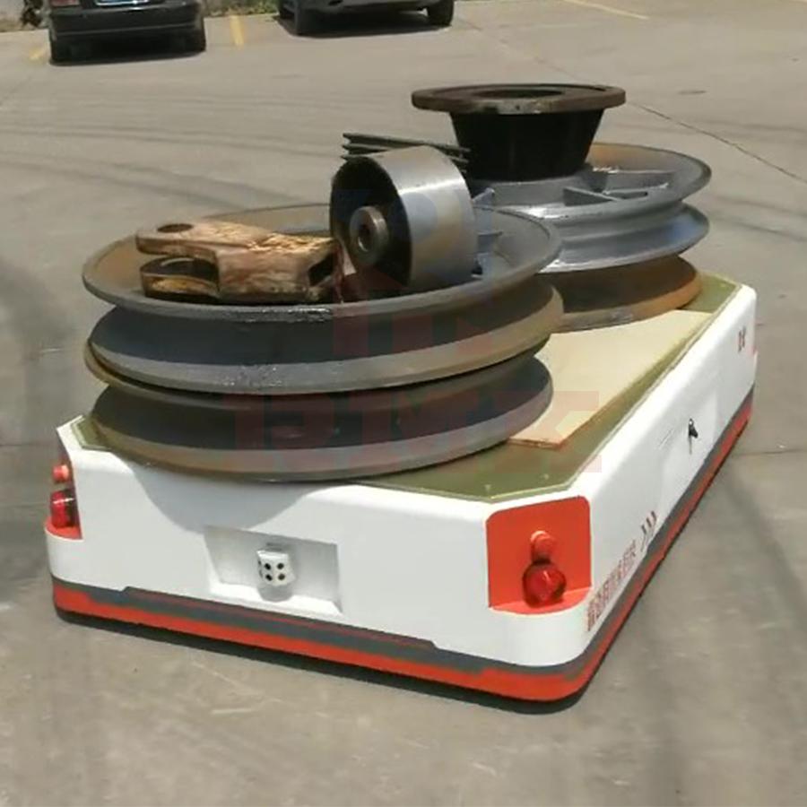 智能AGV小車的工作原理