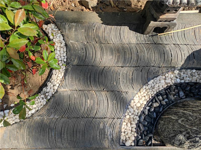 大景园林绿城百合花园设计施工实景照片展示