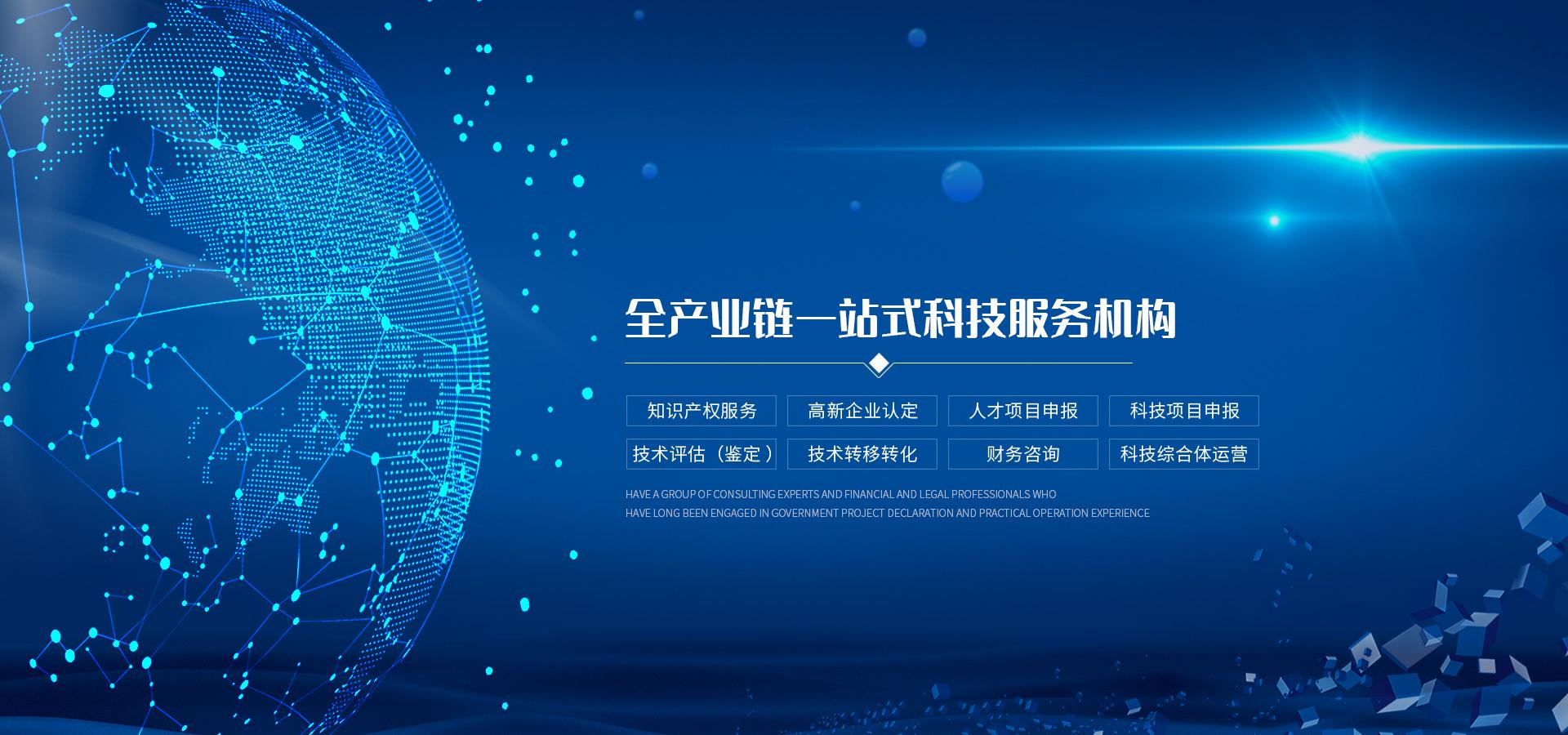 全产业链一站式科技服务机构