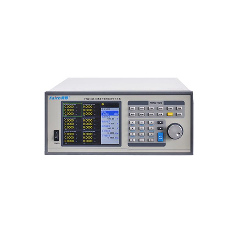 FT66100A系列多通道电子负载(6通道位300W/600W80V/500V)