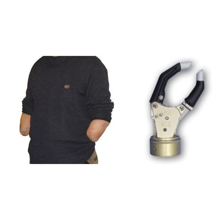 前臂假肢-自由度假手