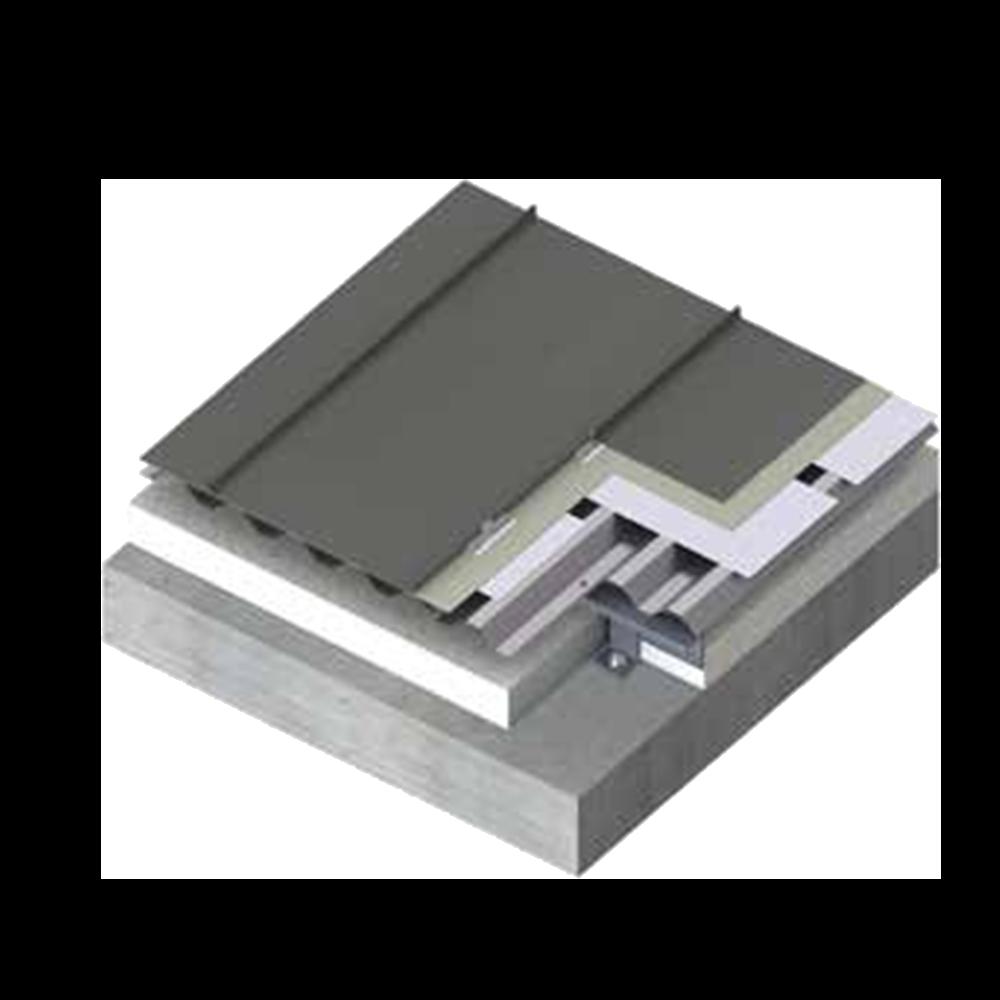 金属屋面钛锌板矮立边系统