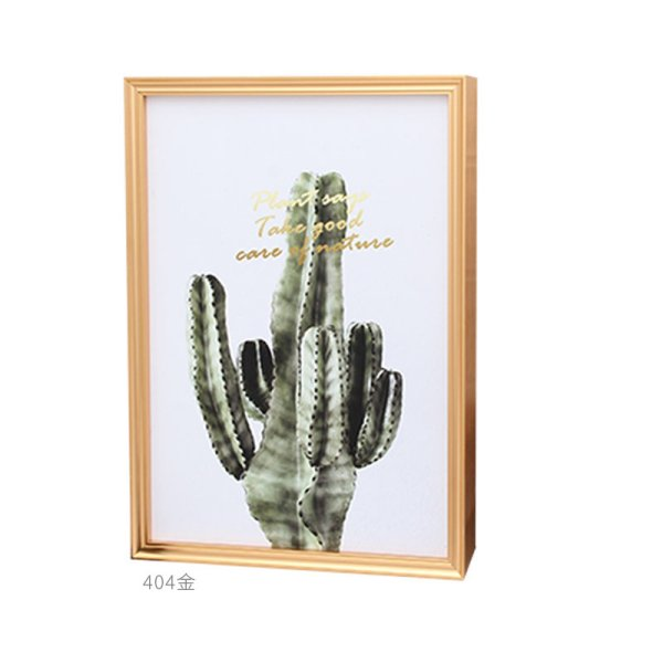 404海报广告框仿古简欧式铝合金画框厂家定制金属海报框A3相框