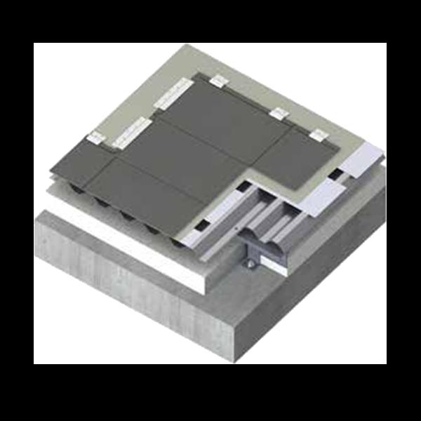 金属屋面钛锌板平锁扣系统