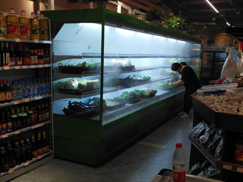 蔬菜喷雾立风柜