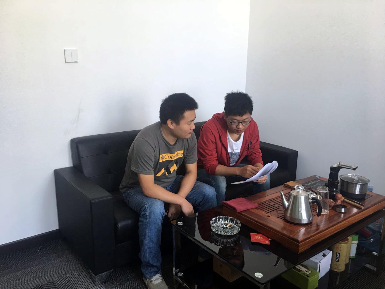 热烈欢迎武汉章总莅临我司考察洽谈跨境电商合作运营项目