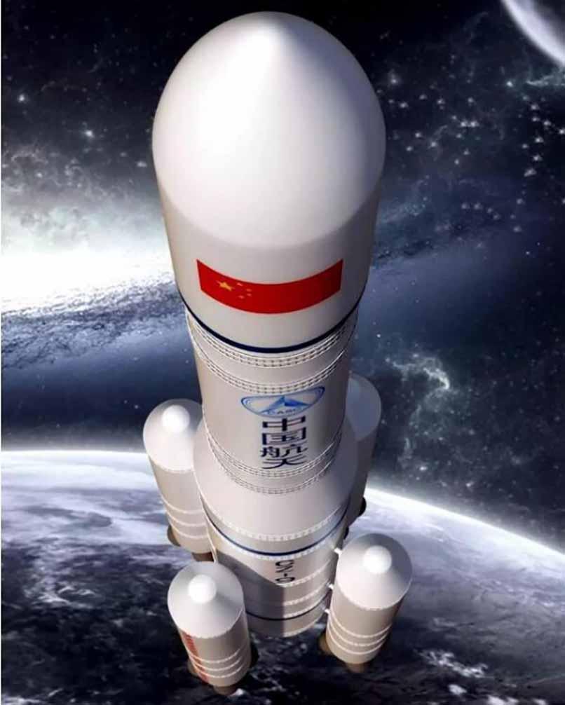 "3D打印助""长征九号""载重能力相比""胖五""提升5倍|杭州博型3D打印创意设计"