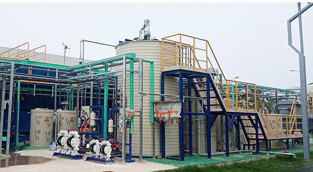 杭州大阳窗业油漆喷涂废水处理工程