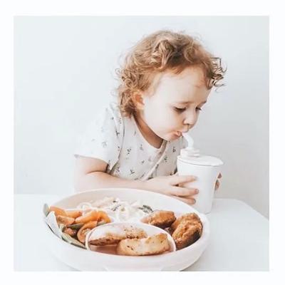 miniware天然宝贝辅食儿童餐具-一起学习