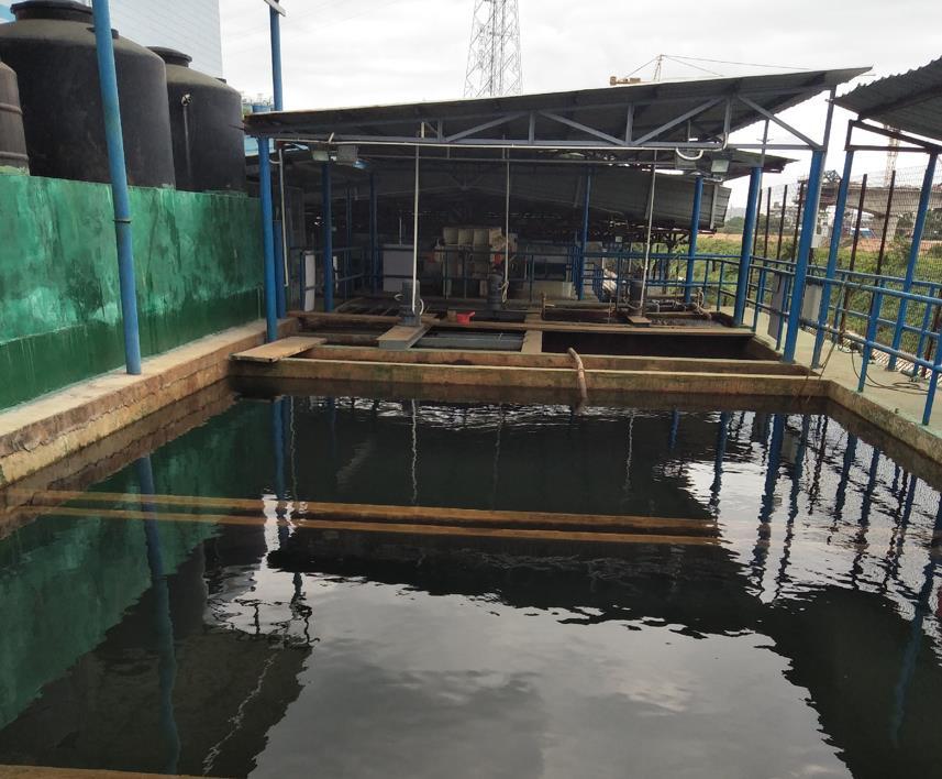 绿禾盛分享:小型污水处理一体化设备施工方案