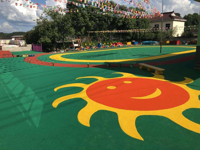 幼儿园EPDM塑胶地坪操场