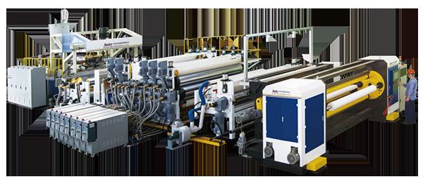 PE透气薄膜生产线