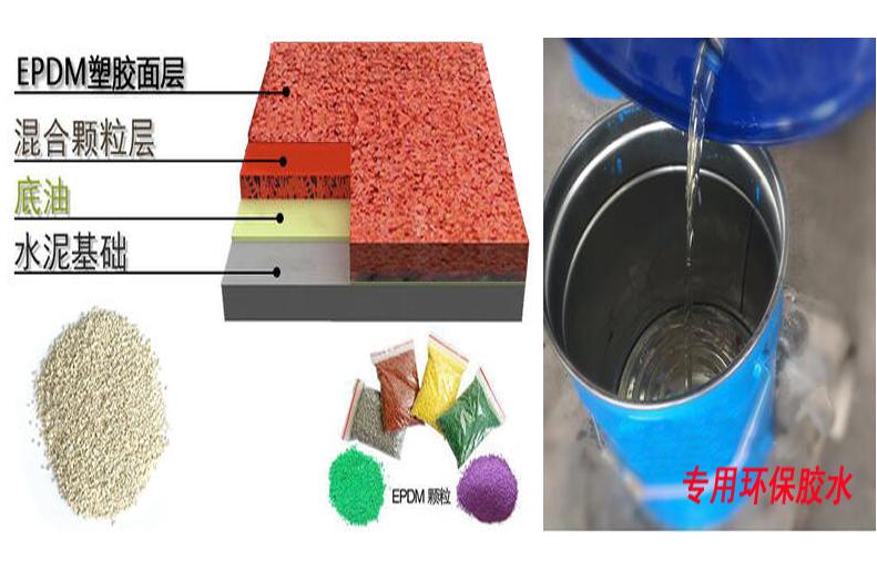 EPDM塑胶施工材料