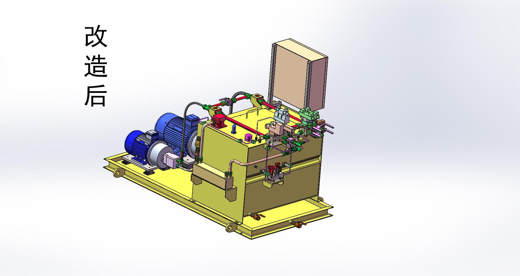 钢管复合加载液压站