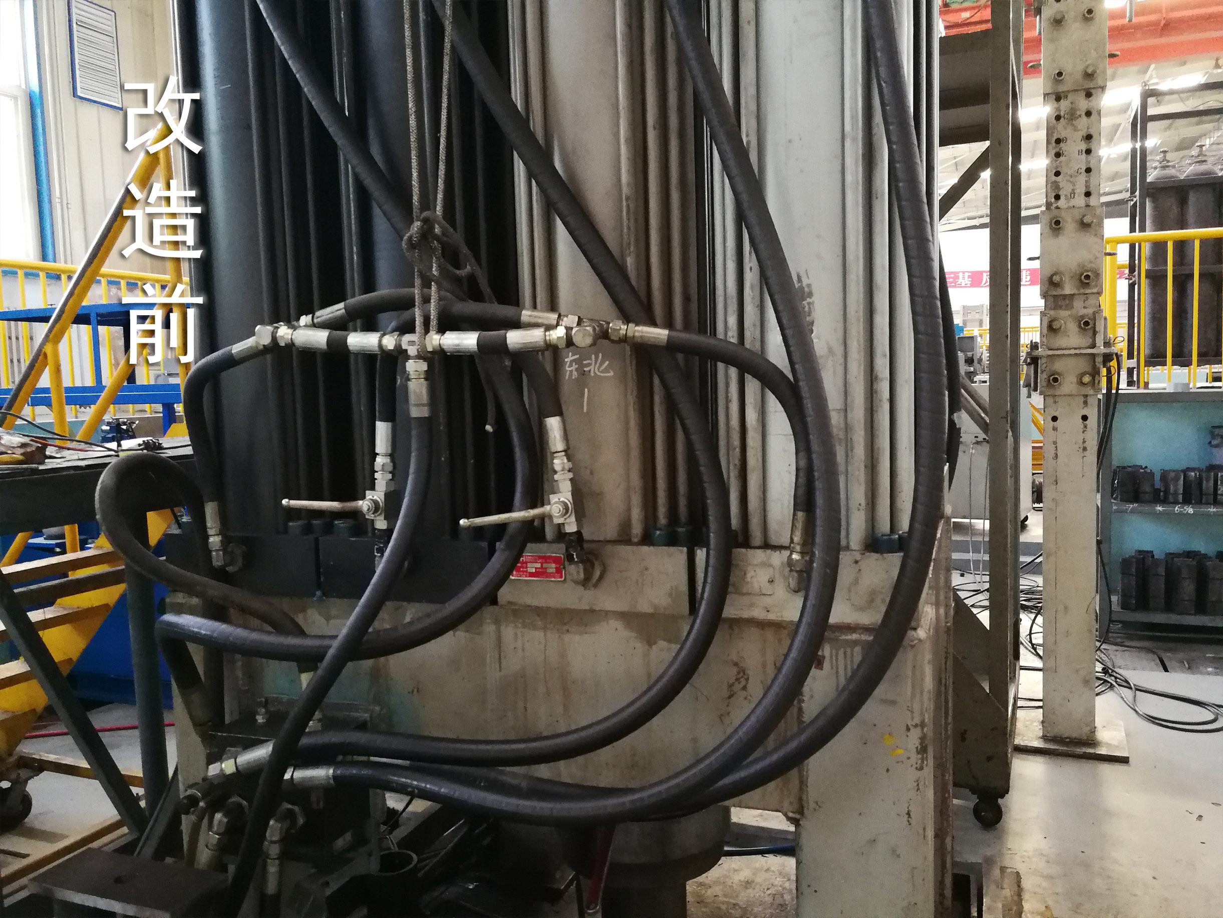 钢管复合加载拉伸单元